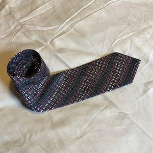 Perry Ellis Portfolio Hand Made Silk Tie